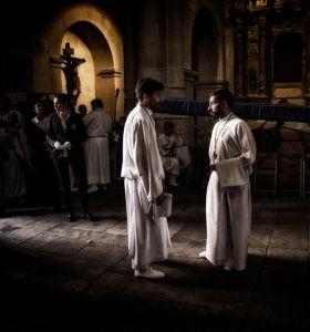 La procesión del Cristo. Fernando Mateo García.